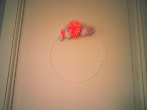 couronne de pompons1