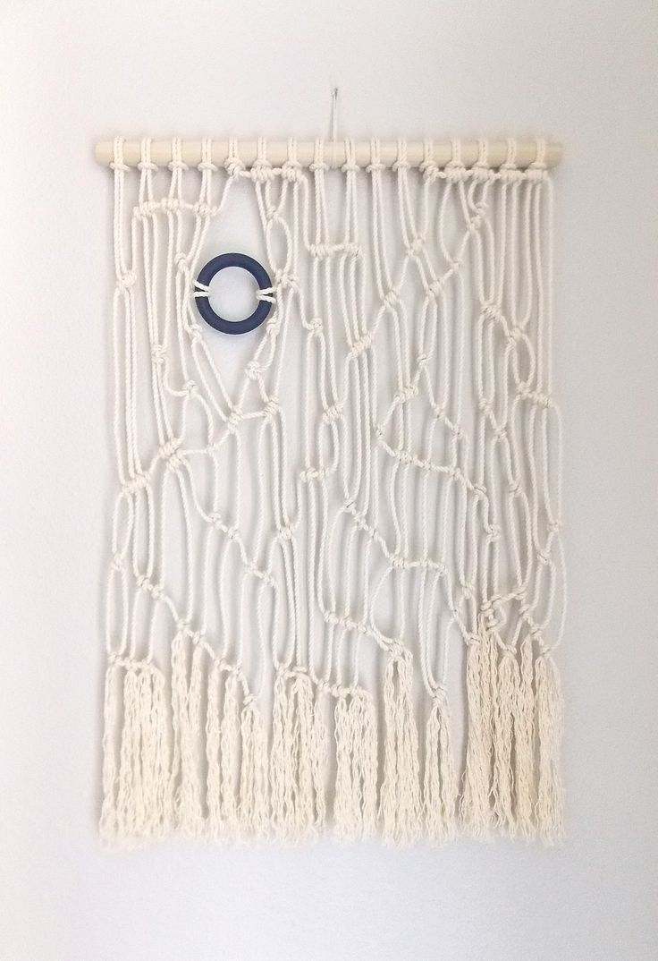 Inspiration d une tenture murale for How to make a rope wall