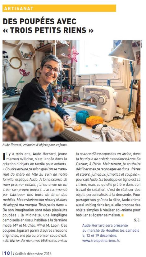 article ovillois